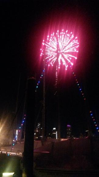 Marina fireworks!